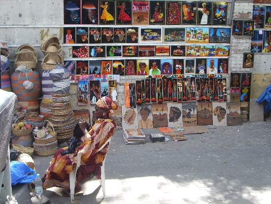 Straatbeeld Dakar